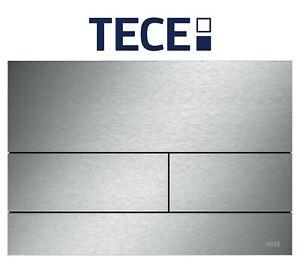 TECE 9240830 square II Edelstahl-gebürstet WC-Betätigungsplatte 2-Mengen-Technik