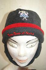 Bonnet gris et rouge taille 52 neuf Tom-Tom et Nana