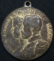 1911 | King George V & Queen Mary Coronation Medal | Medals | KM Coins