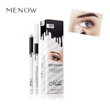 1 X White Eyeliner Pencil Makeup Waterproof Smooth Soft Eye Liner Pen Brightener