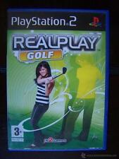 PS2 REALPLAY GOLF - PAL PLAYSTATION 2 (4Z)