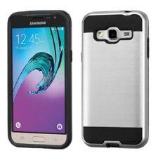 Étuis, housses et coques noirs métalliques Samsung Galaxy J pour téléphone mobile et assistant personnel (PDA)