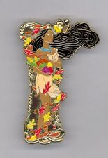 DSF Disney Soda Fountain Princess Pocahontas Flowing Hair Leaves Jumbo LE Pin