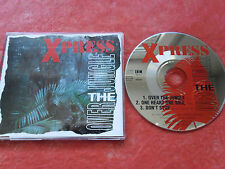 CD-XPRESS-OVER THE JUNGLE-ONE HEART ONE SOUL-DON'T STOP-(CD SINGLE)-1994-3TRACK