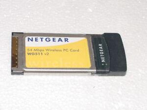 NETGEAR WIRELESS PC CARD WG511 V2 PCMCIA