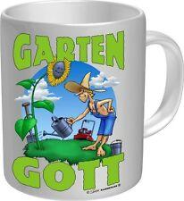 Kaffee Becher Tasse Garten Gott Neu