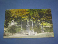 VINTAGE 1930 RAVINE AT AURIESVILLE   NEW YORK   POSTCARD