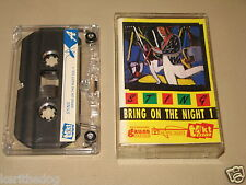 STING - Bring On The Night 1 - MC Cassette un/official polish tape /515