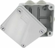 Waterproof Junction Box With Grommets 100 x 100 x 50 IP56 PVC Adaptable Box