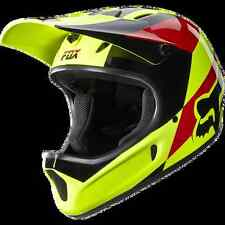 CASCO MTB DOWNHILL DH FOX FIBRA RAMPAGE MAKO YELLOW TG. S