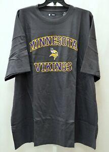 Minnesota Vikings Majestic NFL Short Sleeve Tee Sz 3X 160775RM