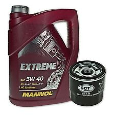 5 Liter Mannol SAE 5W-40 Extreme Motoröl + Ölfilter SM 134 von SCT Germany