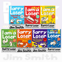 Jim Smith's Barry Loser Collection 7 Books Set (Barry Loser I am Not a loser)