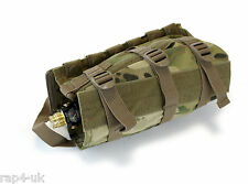Molle horizontale paintball airsoft air tank pouch (huit couleur désert) [BS2]
