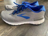 Brooks Mens Adrenaline GTS 20 Running Shoe Grey/blue/ Size 11.5 M