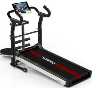 Mechanical Treadmill Fitness Health Folding Running Machine Equipment Home Gym