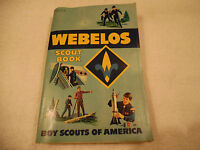 Webelos Scout Book Illustrated 1967 GC 135-1B
