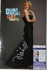 SIGNED DIANA KRALL AUTOGRAPHED TOUR BOOK PROGRAM CERTIFIED AUTHENTIC JSA #P87379