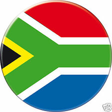 MAGNET frigo Ø56 mm coque style badge Afrique-du-Sud-South-Africa-Sudafrica