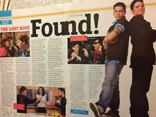 Corey Haim and Corey Feldman, Two Coreys, Two Page Vintage Clipping