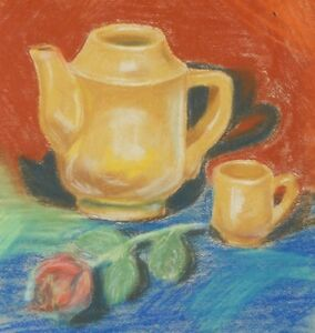 """Original drawing pastel on paper 20""""x16"""" 1980 sketches Pronkin CONTEMPORARY ART"""