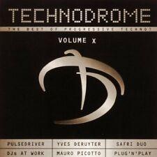 Technodrome 10 (2001) Pulsedriver, DJs@Work, Yves Deruyter, Safri Duo, .. [2 CD]