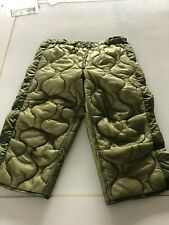 US Army M65 Hose Futter Trouser Liner Cold Weather Futter Small Long
