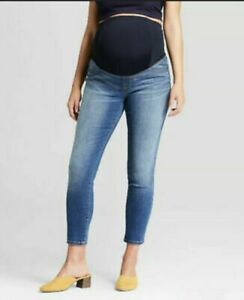 Women's Crossover Skinny Crop Jeans Isabel Maternity by Ingrid & Isabel