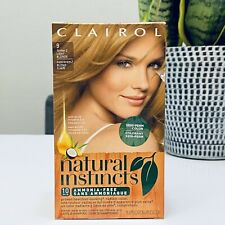 Clairol Natural Instincts Hair Color #9 Former 2 Light Blonde New