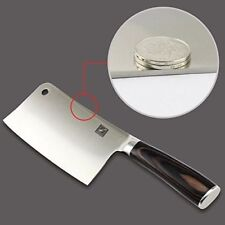 "7"" chef Germany Stainless Steel Butcher Knife Heavy Duty Meat Cleaver Chopper"