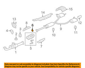 HONDA OEM Exhaust-Catalytic Converter Gasket 18393SDBA00