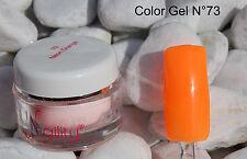 COLOR GEL  UV 7ml Naility   N°73 Neon Orange orange fluo