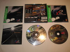 Gran Turismo 2 (PlayStation PS1) GH Greatest Hits Game 100% Complete Vr Nice!