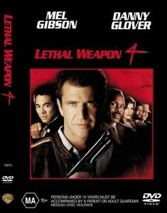 Lethal Weapon 4 Four DVD - SAME DAY POST FROM SYDNEY - REGION 4 AUSTRALIA