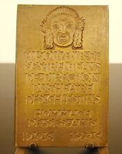 Médaille à Charles Montcharmont Théatre des célestins Lyon 1937 sc Bertola medal