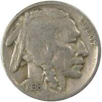 1936 D Indian Head Buffalo Nickel 5 Cent Piece G Good 5c US Coin Collectible