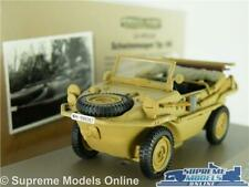 VOLKSWAGEN SCHWIMMWAGEN CAR MODEL 166 1:43 MILITARY ARMY 1942 ATLAS IXO WWII T3