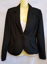 Next Anzug Jacke Blazer Gr 8 schwarz, Formelle, Neu UVP £ 65