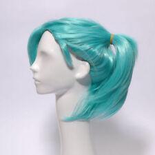 Perruques, extensions et matériel cheveux synthétiques verts sans marque pour femme