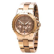 Michael Kors Women's MK5314 Watch Dylan Rose Gold Dial Stainless Steel Bracelet