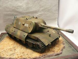 1/35 Built German E-100 Super Heavy Tank