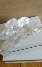 Hair clip crystal claw Flower rhinestone clamp MC Davidian swarovski barrette