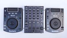 Numark NDX 200 console lettore cd dj più mixer gemini ps-626efx professional
