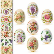 Thermo Heat Shrink Sleeve Decoration Easter Egg Wraps Pysanka Pisanki Decoupage