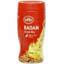 MTR Instant Badam Powder Drink Hot Cold Milk Mix powder -500gm