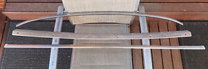 TOYOTA 1976-79 CROWN MS83 2600 WAGON GENUINE CHROME WIND-SCREEN MOULDS!! RARE