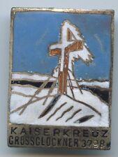 A545 - Abzeichen Kaiserkreuz Großglockner 3798 M. Kärnten Plakette Anstecker