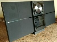 BEOSOUND CENTURY 2000 CD TUNER TAPE AUX BANG OLUFSEN B O MCMXCIII K7 Black 2652