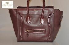 Authentic Celine Smooth Calfskin Micro Luggage