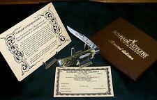 Schrade Miners Knife TM-2 Classics Circa-1980's W/Presentation Case, Certificate